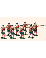 614 Toy Soldiers Set 42nd Highland Regiment of Foot Painted