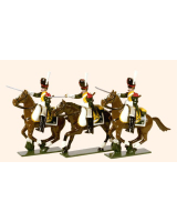 0714 Toy Soldiers Set French Line Dragoons Elite Company Painted