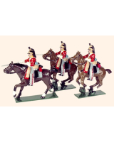 0734 Toy Soldiers Set The 6th Inniskilling Dragoons Painted