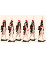 0770 Toy Soldiers Set French Grenadiers of the Guard Painted