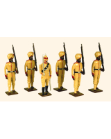 009 Toy Soldiers Set Punjab Frontire Force 1890 Painted