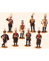 0097 Toy Soldiers Set Kaiser Wilhelm II The Imperial German Army