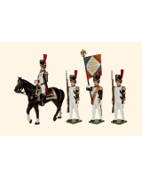 N1A Toy Soldiers Set French Grenadiers of the Guard Painted