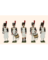 N1B Toy Soldiers Set French Grenadiers of the Guard Painted