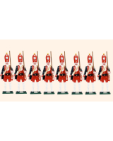 PG2 Toy Soldiers Set Potsdam Giant Grenadiers Painted