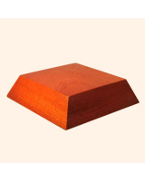 B-011 Wooden Base/ Plinth 6,50 x 8,50 Cm
