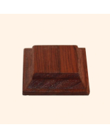 B-012 Wooden Base/ Plinth 2,5 x 2,5 Cm
