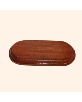 B-031 Wooden Base/ Plinth 13 x 5,7cm