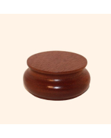 B-034 Wooden Base/ Plinth 5,5/ 5,7 Cm Diameter