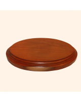 B-045 Wooden Base/ Plinth 12,0 x 6,2cm