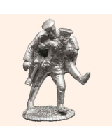M4 German soldier carrying wounded man Foot CK 30mm Kit