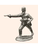 T 01 Officer with pistol, advancing Foot CK 30mm Kit