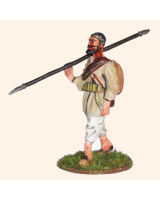 P 1 Pathan walking with spear Foot 30mm Kit
