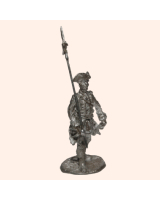 D 29a Infantry Sergeant with Halberd 30mm Willie Foot Kit