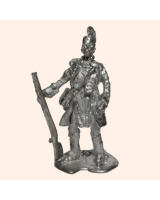 D 41 Red Indian Officer on 30mm Willie Foot Kit