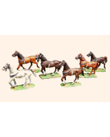 Willie Box 002 - 2D Continental Horses Walking Kit
