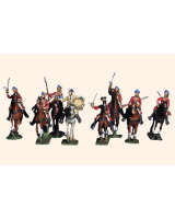Willie Box 017 - DF43 The French Dragoons in Bonnets Kit