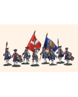 Willie Box 025 - DWIP1 Piedmontese Infantry Command Kit