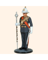 AS90 75 Drum Major Royal Marines Painted