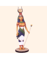 E1 Isis Egyptian Gods and Goddesses Painted