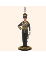 JW100 1 Field Officer Kings Canadian Hussars Painted