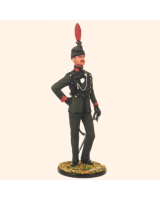 JW100 2 Officer 63rd Halifax Rifles c.1900 Painted