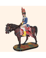 M54 50 Officer 10th of Prince of Wales Own Light Dragoons Painted
