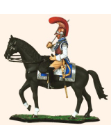 M90 02 French Carabinier Officer 1812-1815 Painted