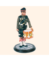 SQN54 018 Drummer Gordon Highlanders Painted