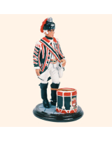 SQN54 099 Drummer 15th Light Dragoons Painted
