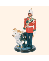 SQN54 122 Mascot and Handler 3rd Battalion Royal Regiment of Wales 1985 Painted