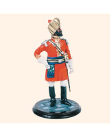 SQN54 137 Officer Alwar State Force Painted