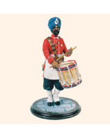 SQN54 195 Side Drummer 45th Rattrays Sikhs Painted