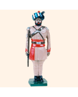 0044 2 Toy Soldier Sergeant at attention Kit