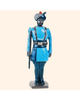 0046 2 Toy Soldier Sergeant at attention Kit
