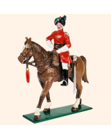 0066 1 Toy Soldier Officer on horseback Kit