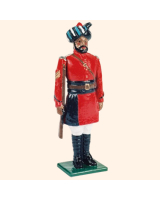 0066 2 Toy Soldier Sergeant at attention Kit