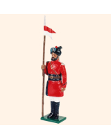 0066 4 Toy Soldier Lancer at attention Kit
