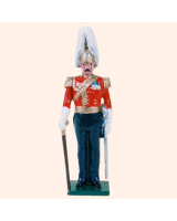 0073 1 Toy Soldier Officer Gentleman at Arms Kit