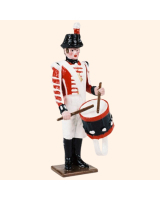0075 3 Toy Soldier Drummer at attention Kit