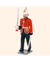 0085 1 Toy Soldier Officer marching Kit