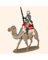 095 2 Toy Soldier Private on Camel Kit