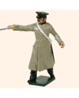 0116 1 Toy Soldier Officer Russian Artillery Kit