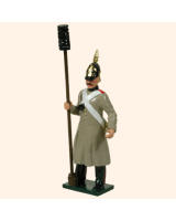 0117 5 Toy Soldier Gunnar with Sponge Staff Kit