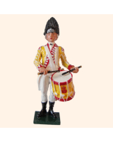0202 5 Toy Soldier Drummer Kit