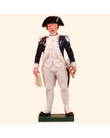 0250 5 Toy Soldier Officer holding map Kit