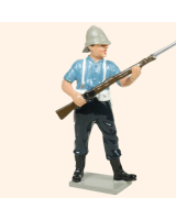 0403 4 Toy Soldier Private at the ready Kit