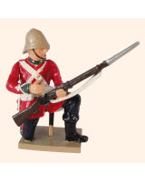 0405 6 Toy Soldier Private Kneeling loading Kit
