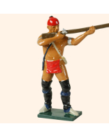 0610 2 Toy Soldier Warrior Standing firing French Allies Kit