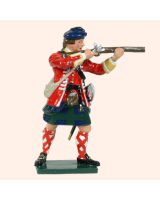 0613 3 Toy Soldier Firing 42nd Highland Regiment of Foot Kit